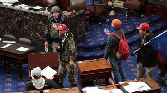 Nearly One In Five Defendants In Capitol Riot Cases Served In The Military