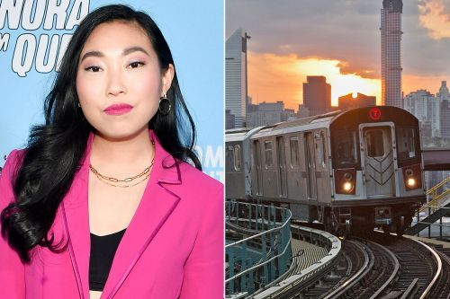 New Yorkers love -and hate - Awkwafina as the voice of 7 train