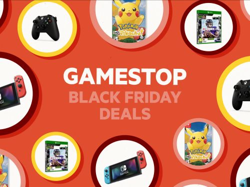 GameStop's Black Friday deals include up to 55% off of Switch, PS4, and Xbox One games as well as an exclusive collectible Nintendo Switch bundle