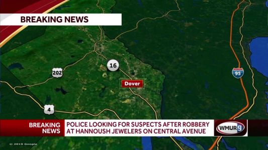No one injured in Dover jewelry store robbery, police say