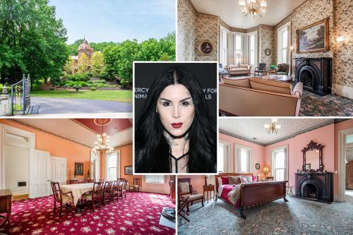 Inside Kat Von D's Indiana house for which she's leaving Los Angeles
