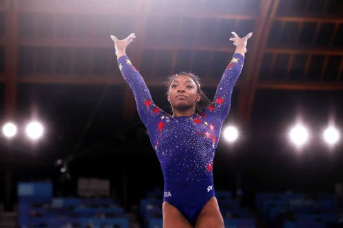 Gymnast Simone Biles withdraws from uneven bars, vault Olympic events