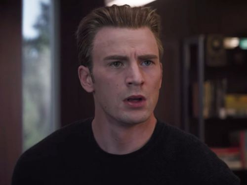 Chris Evans says that he 'can't believe' that Marvel released a trailer for 'Avengers: Endgame': 'So much of it is a visual spoiler. You'll see.'