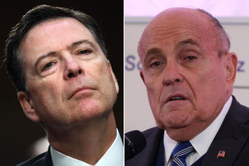 Rudy Giuliani: 'No one really respects' James Comey