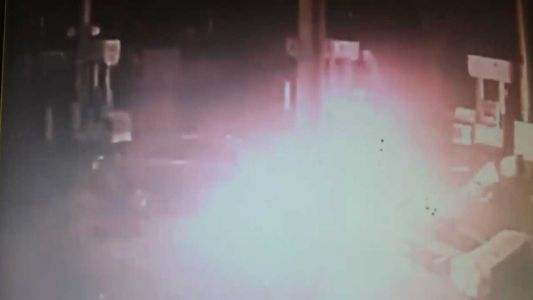 VIDEO: Sacramento gas station explodes after driver slams into pump