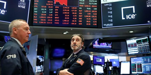 US stocks closed mixed as investors weigh positive jobs data against stimulus stalemate