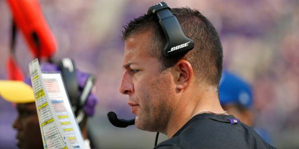 Vikings fire offensive coordinator John DeFilippo in the middle of playoff hunt after team's frustration with play-calling became overwhelming