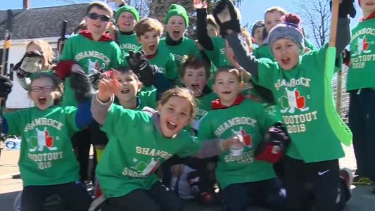 Hundreds of kids play in 2019 Shamrock Shootout