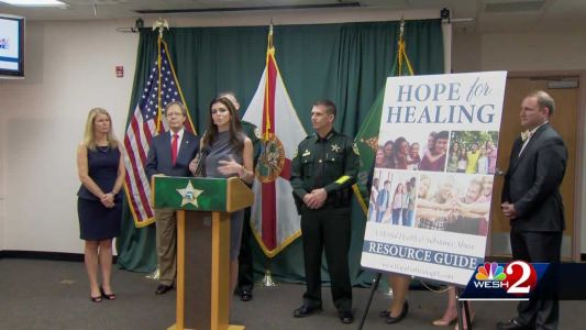 Florida's first lady announces new initiative to combat opioid addiction