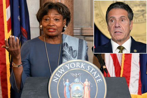 State Senate Majority Leader Andrea Stewart-Cousins calls for Cuomo to resign