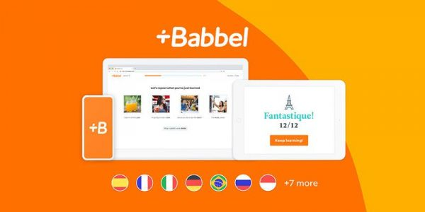 Get a lifetime subscription to Babbel language learning for 50% off