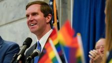 Kentucky Gov. Andy Beshear Makes History By Attending LGBTQ Rally At Capitol