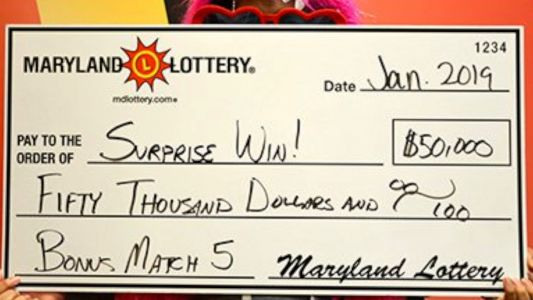 $50,000 lottery winner forgot to check winning ticket for months