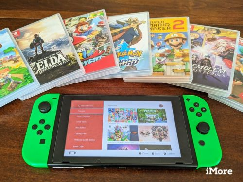 Changing between digital and physical games on Switch is easy