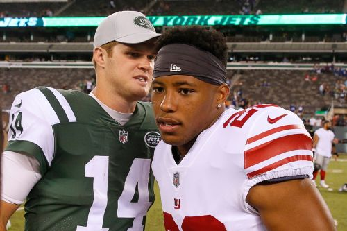 Saquon Barkley delivers gut punch in Sam Darnold debate
