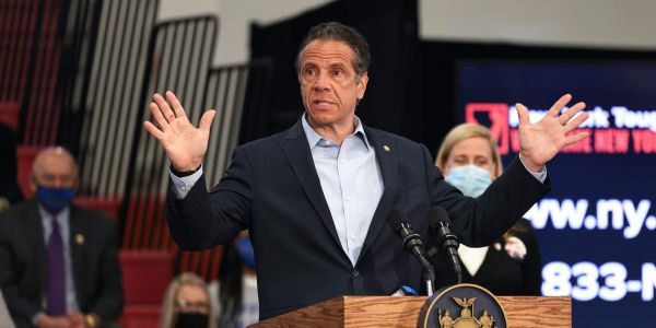 Cuomo complained about a Jewish holiday ritual and used an anti-trans slur with an aide, report says