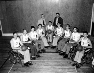 New Book Highlights History of Wheelchair Basketball