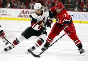 Foegele ends scoring drought, Hurricanes blank Coyotes 3-0