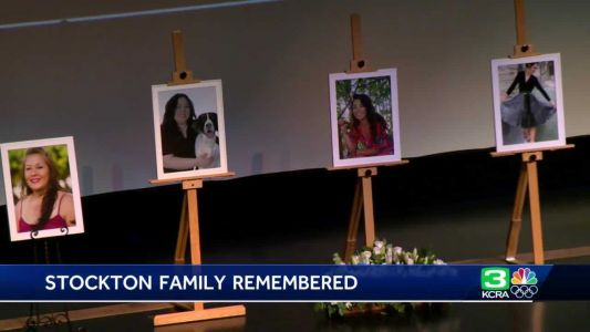 Stockton family killed in boat fire remembered at memorial