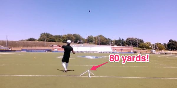 The Patriots signed a 'trick-shot' kicker who can kick an 80-yard field goal