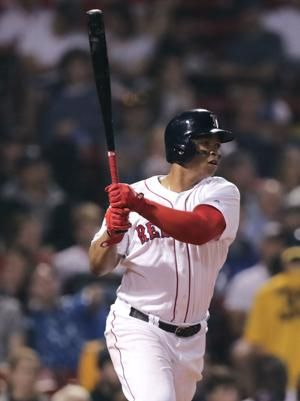 Devers helps Red Sox survive Jays' rally