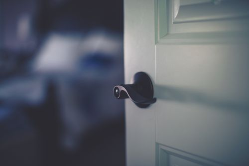 Why you should always close the door before you go to bed