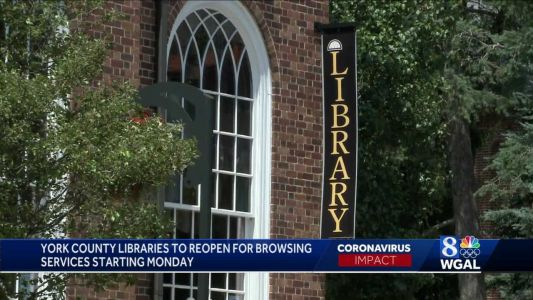 York County libraries reopen