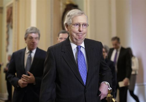 McConnell's maneuvers take backseat to Trump in shutdown