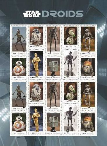 New 'Star Wars' stamps are coming this spring
