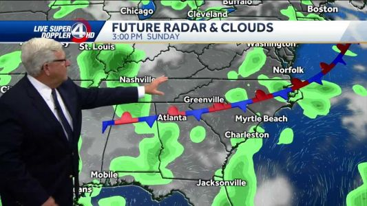 Videocast: Mostly sunny today