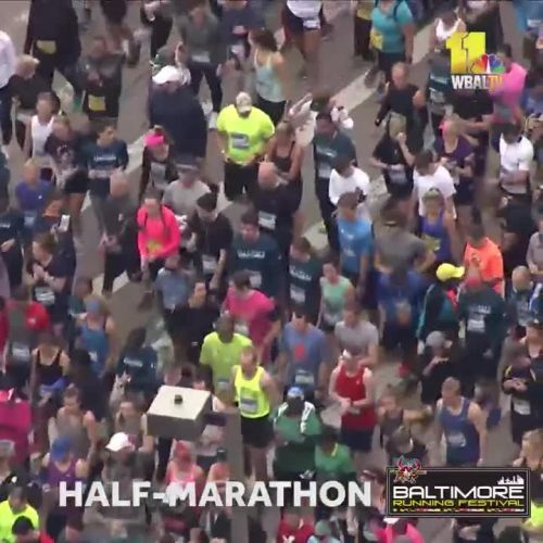 First wave of half-marathon takes off