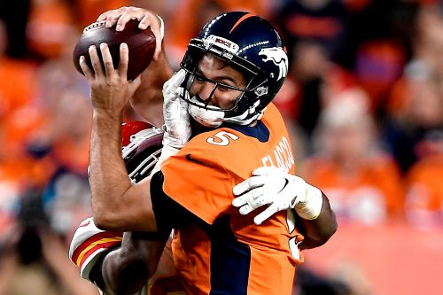 Joe Flacco's time with Broncos is getting sadder