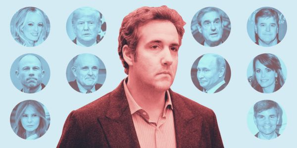 The Michael Cohen controversy reached a climax as he was sentenced to 3 years in prison after pleading guilty and implicating Trump - here's a full timeline of events