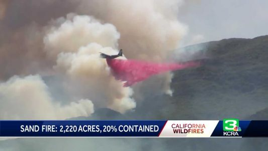 Yolo County wildfire almost fully contained, Cal Fire says