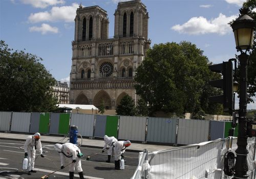Notre Dame construction resumes in Paris, but worries about lead remain