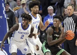 No. 9 Kentucky gets another scare, holds off Utah Valley