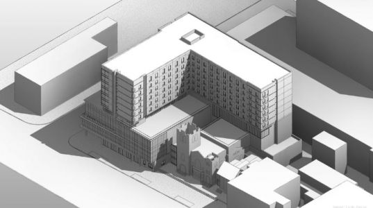 Check out the plan for this $80 million Downtown Louisville hotel project