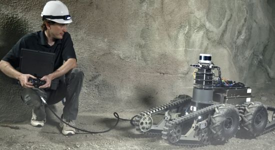 NASA Robots Rove Through Caves for Underground DARPA Competition