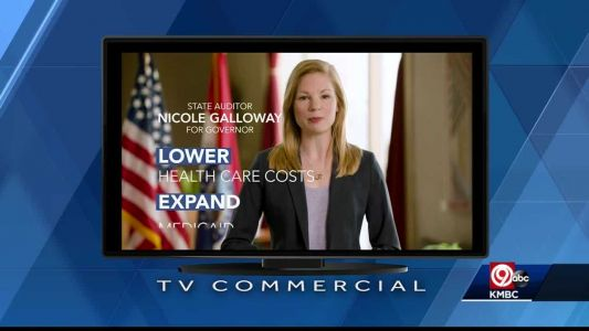 Galloway's new ad attacks Parson on health care