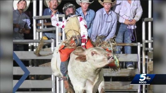 Teen getting back in the saddle after suffering brain injury in bull riding accident