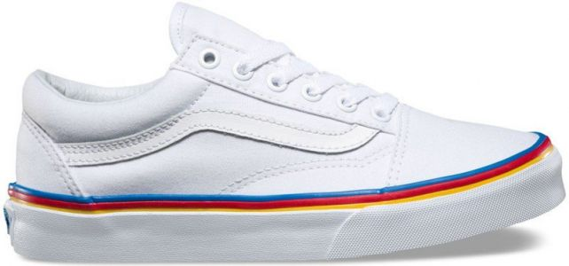 Get your pride on with these Vans shoes
