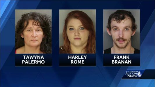 Family faces charges after two children were left in bar