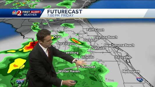 Storms developing as we head into a rainy weekend