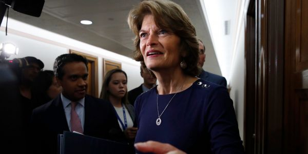 GOP Sen. Lisa Murkowski said she wouldn't vote to confirm a Trump nominee pre-election hours before Ruth Bader Ginsburg's death