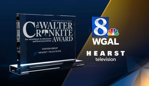 WGAL-TV & HEARST TV, EARN 10TH CONSECUTIVE CRONKITE AWARD FOR EXCELLENCE IN TV POLITICAL JOURNALISM
