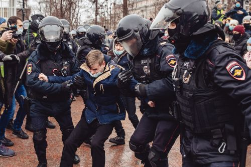 Navalny Protests Sweep Russia as Kremlin Cries U.S. Interference