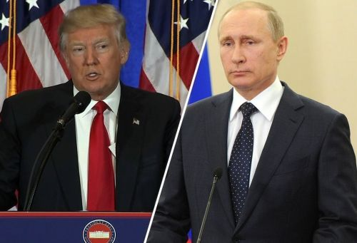 Trump suggests he will bring up indicted Russians with Putin