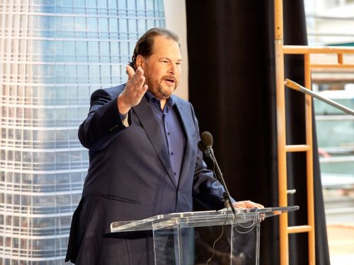 How Salesforce CEO Marc Benioff is using acquisition after acquisition to power his plan to take on Microsoft