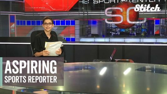 His parents were once told he may never speak; now this teen is an aspiring sports reporter