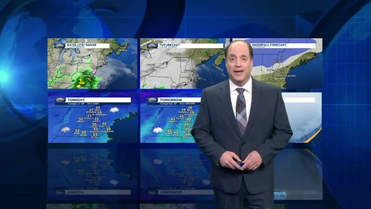 Watch: Rain, snow for some during morning commute
